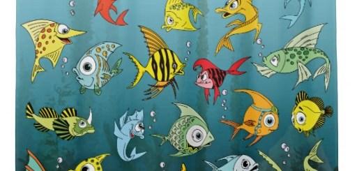 Cute Cartoon Fish Underwater Merchandise Gifts