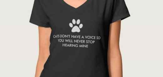 Cats Don't Have a Voice Shirts