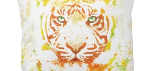 Tiger Watercolor Art Products