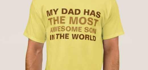 Awesome Son Shirts. My Dad Has the Most Awesome Son in The World. Apparel Gifts.