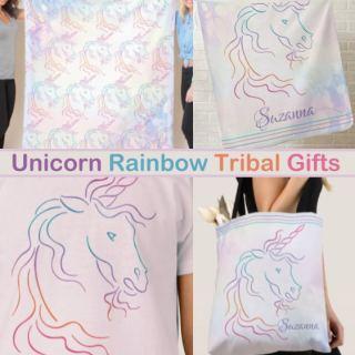 Unicorn Rainbow Tribal Gifts Products
