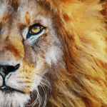 Lion Oil Painting | Original Prints and Products