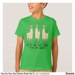Llamas Steal My Sanity T-Shirts
