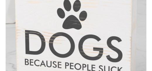Custom Dog Wooden Box - Unique Dog Gifts