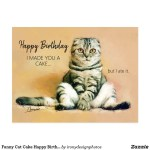 Funny Cat Birthday Cards – Greetings and Postcards
