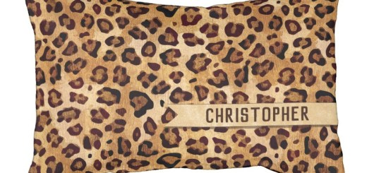 Rustic Leopard Pattern - Animal Skin Print