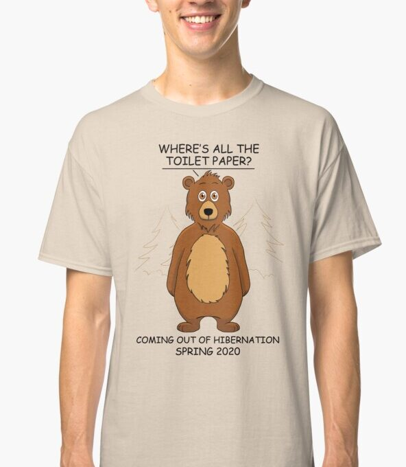 Out of Hibernation Bear Light T-Shirt