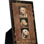 Dog Memorial Keepsake Plaques