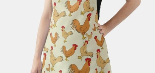 Novelty All-Over Print Aprons - Men, Woman, and Children