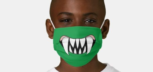 Face Masks for Kids have fun and cute designs like Dinosaurs, funny smiley faces, monsters, Koalas, polar bears, dogs, bumble bees and more.