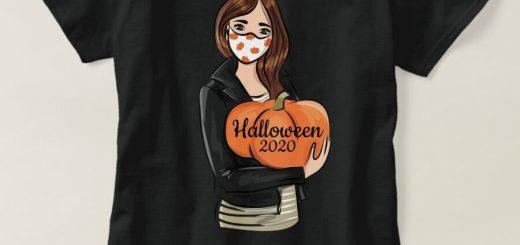 Halloween 2020 T-Shirts and Products. Stay safe during this crazy time because of the coronavirus/COVID-19 virus and promote safety.