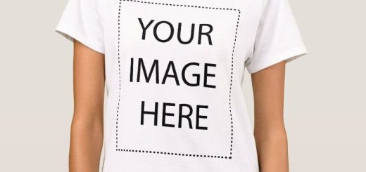 Make Your Own T-Shirt – Add your Image and Text