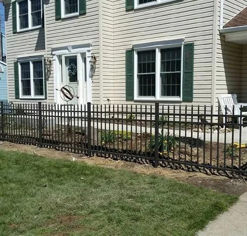 erie fence . - pa aluminum ornamental