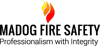 Fire safety training at Madog Fire Safety