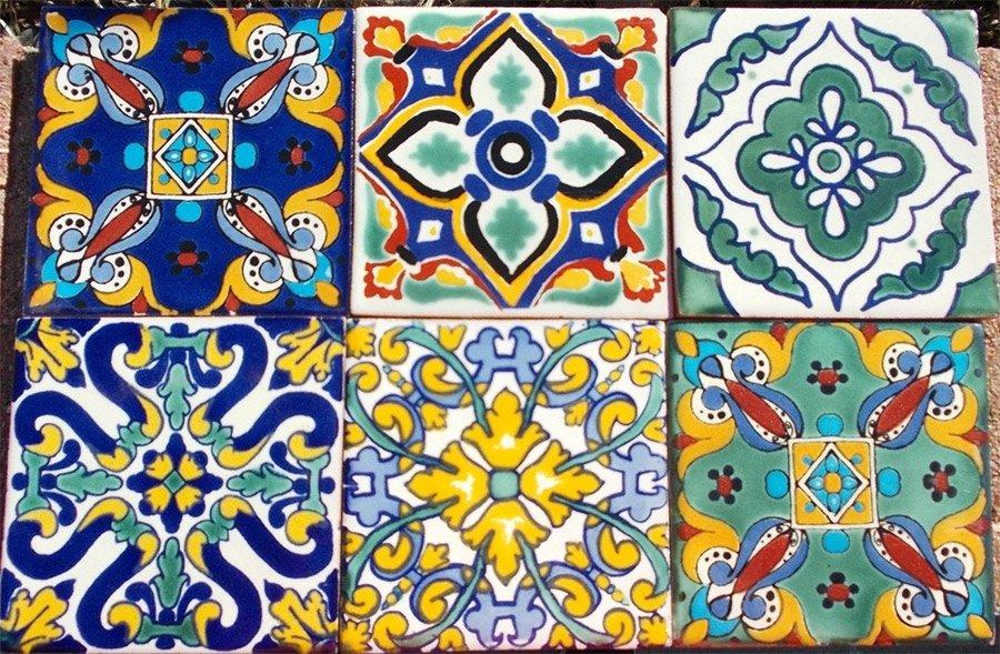 Piastrelle Ceramica Sicilia Mattonella in ceramica siciliana dipinta a mano piastrella Home pavimenti rivestimenti piastrelle caltagirone