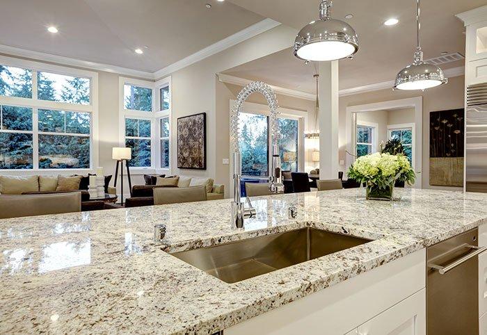 quartz kitchen countertops trash bin granite in jamestown ny chautauqua