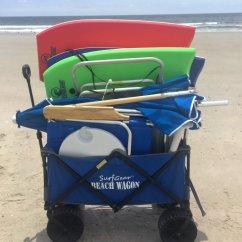 Beach Chairs With Umbrellas Stool Chair Repair Oak Island Nc Sharon S Linens Wagon Cart