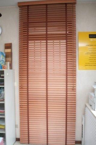 Finestra in pvc tende alla veneziana bianco easy fit home office cieco effetto legno tutte le dimensioni. Tende Veneziane Verona Tapparelle Valentini