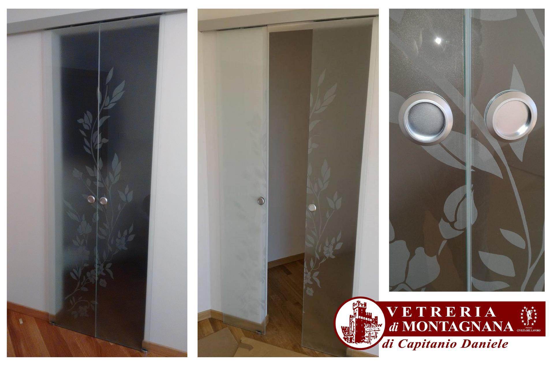 Vetri decorati a mano  Montagnana PD  Vetreria Di