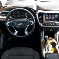 2017 Gmc Acadia With Captains Chairs Canyon Swing Chair Queenstown In New Zealand Scott 39s Auto Center