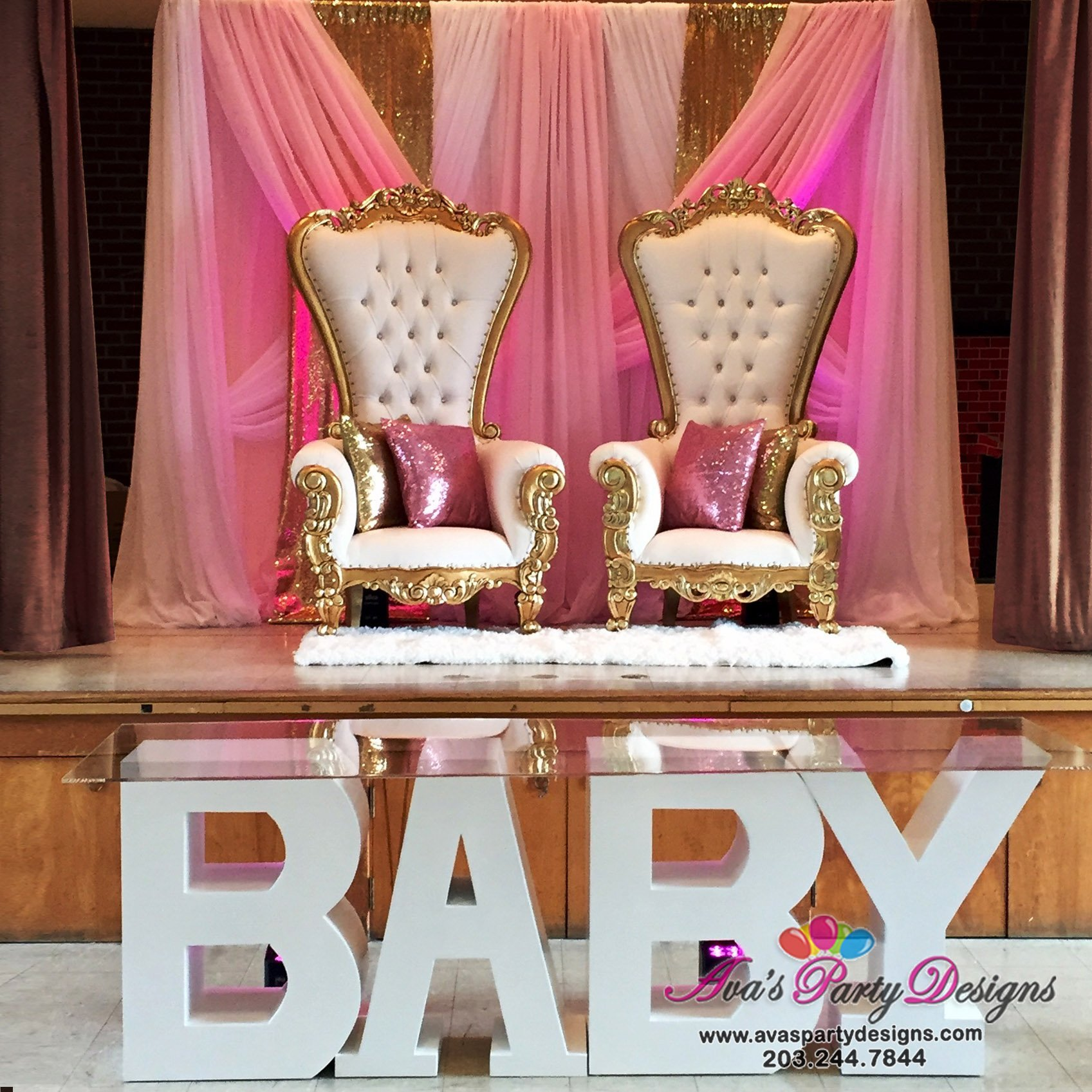 Royal Chair Rental Our Party Rental Gallery Ava Party Designs
