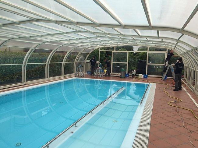 Pulizia piscine e trattamenti per pavimenti  Sanificazione  Busto Arsizio VA