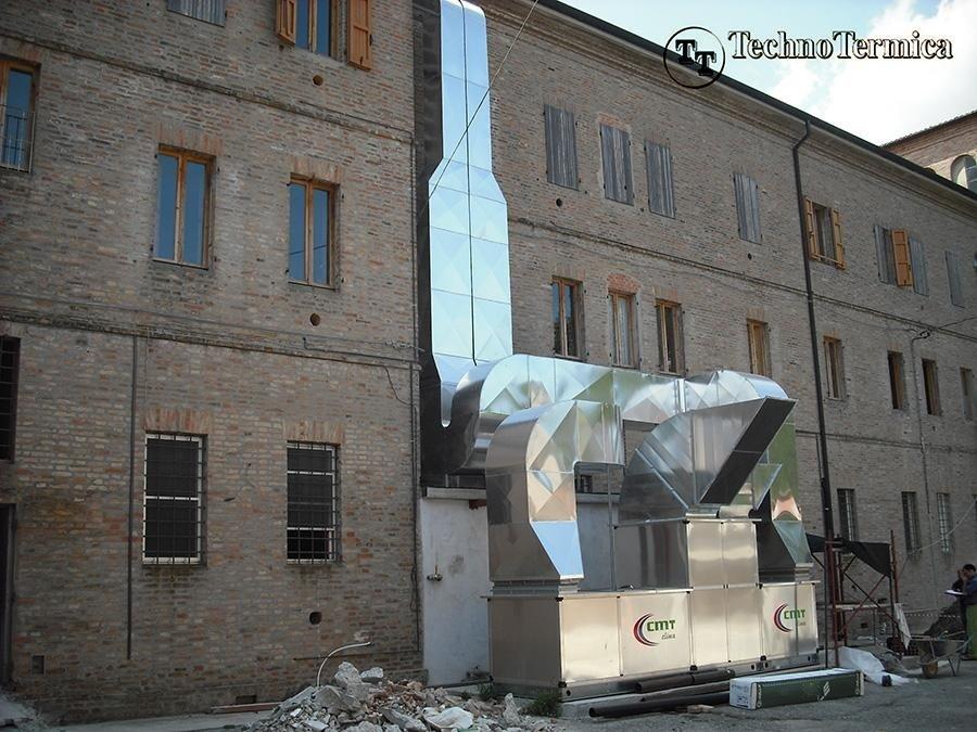 Impianti aeraulici  Ferrara  TechnoTermica