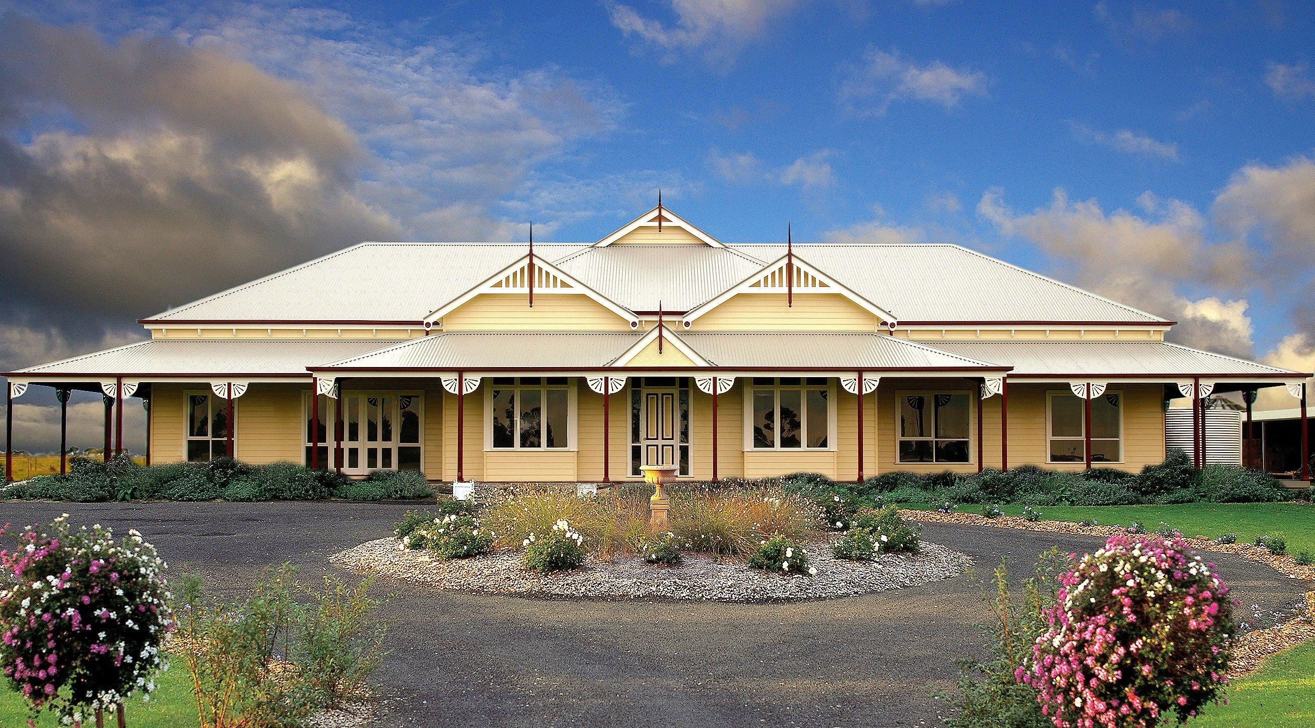 Country Homestead House Plans Australia