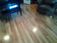 Brazilian Teak Hardwood Flooring Installation   J & R ...