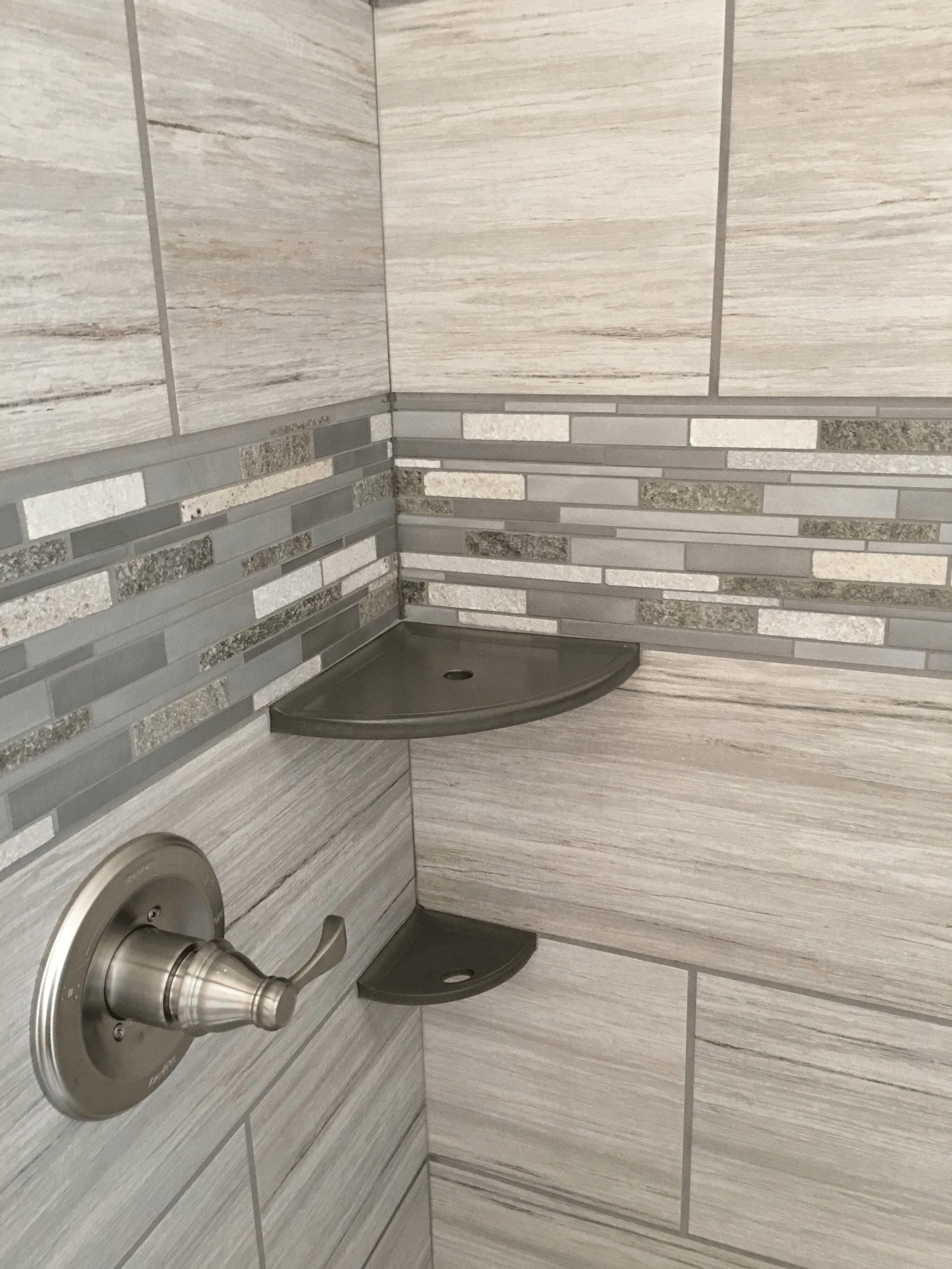 shower tile border