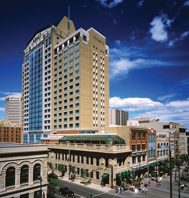 Hyatt Hotel Calgary Transportation