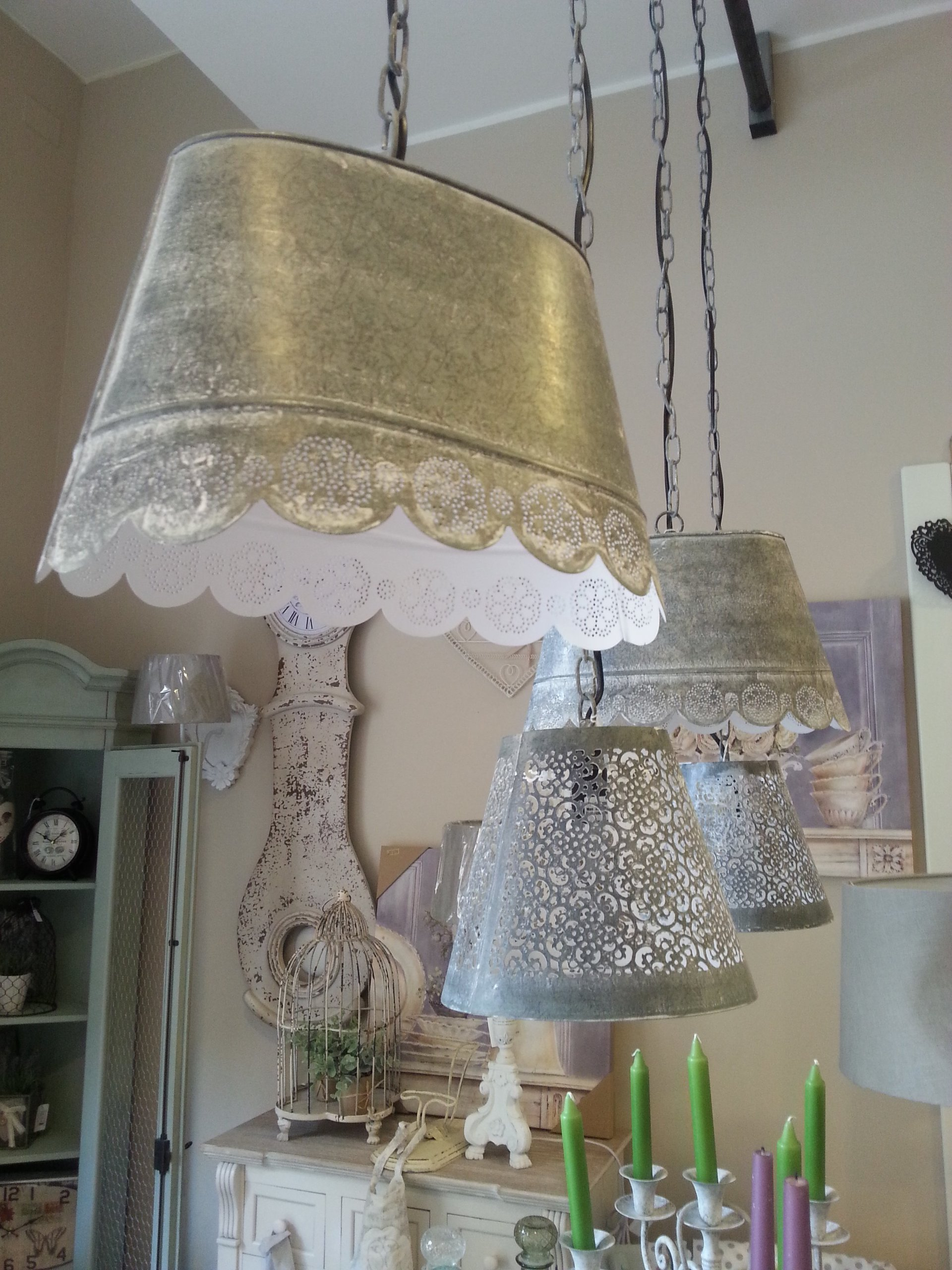 Lampadario Da Bagno Shabby: Lampadari da cucina country lampade ...