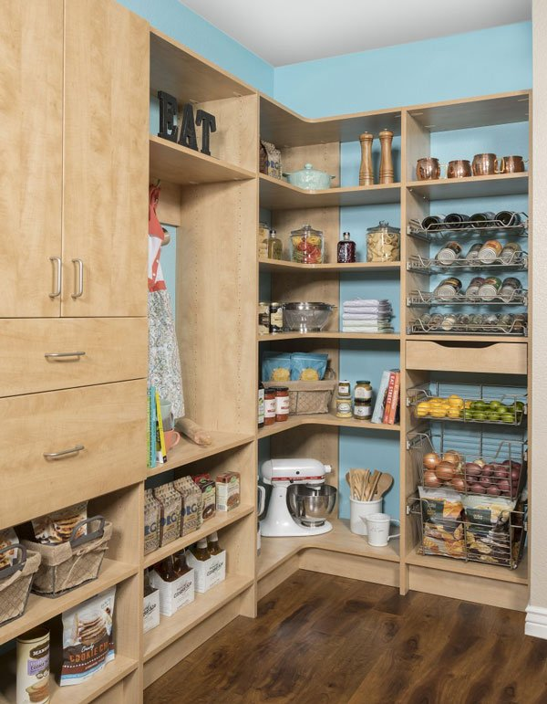 kitchen pantry small island with seating closet gallery secret finish