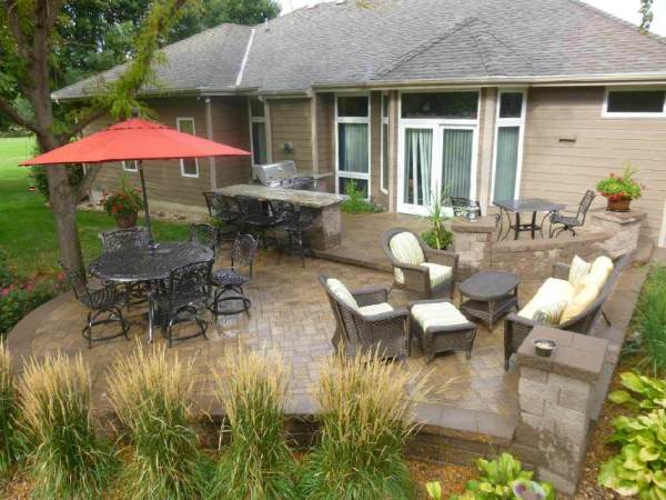 full service landscaping - country