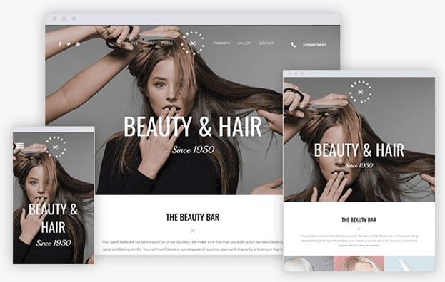 New Template - Hair Salon