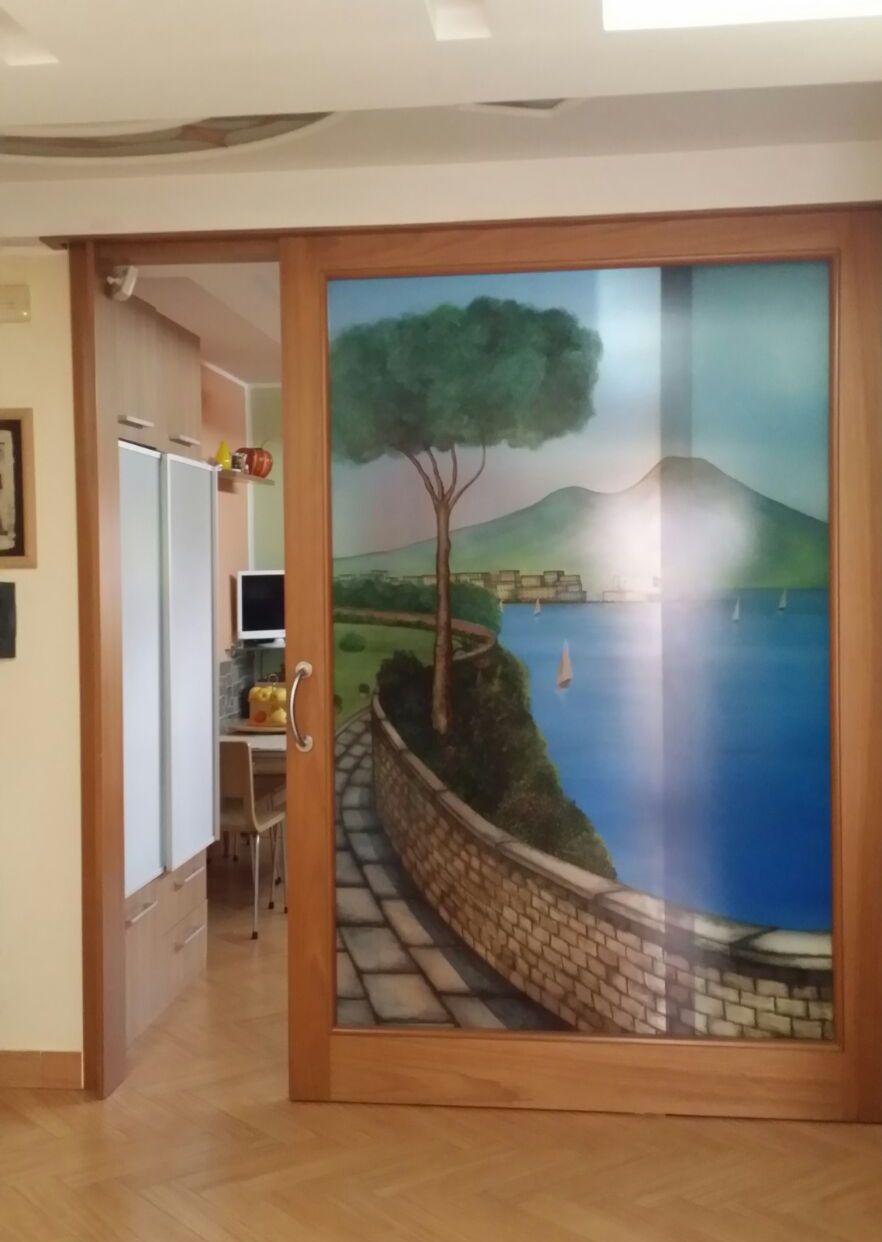 Porte in vetro  Napoli  VM Art Design Glass  Porte in