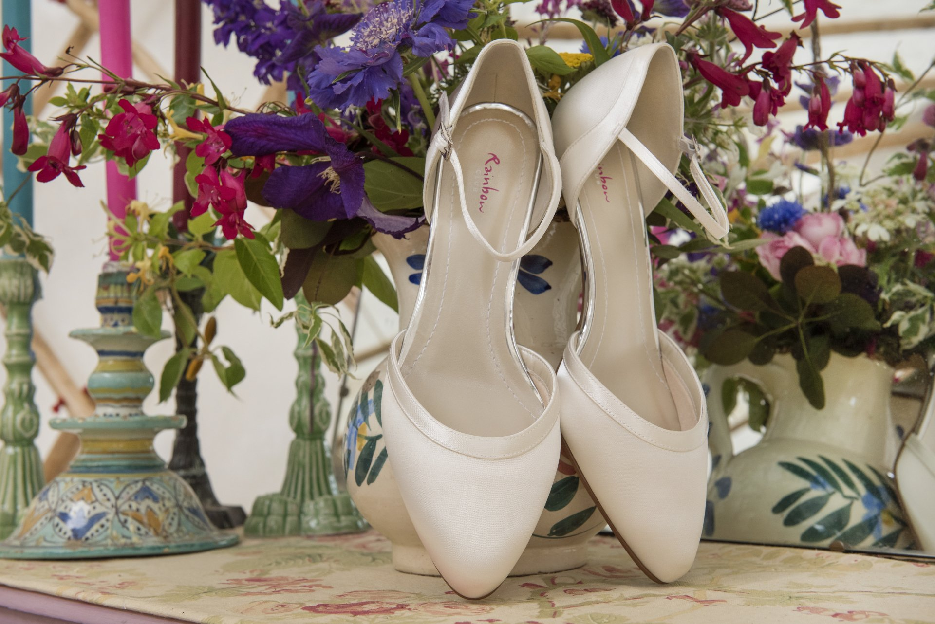 Rainbow Club wedding shoes from Chequers Boutique