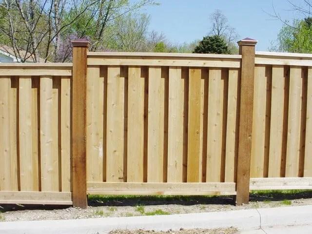 Aluminum Chain Link Vinyl Amp Wooden Fence Installation