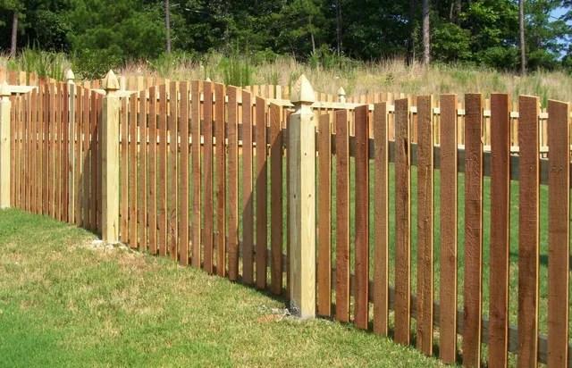 wood fences wilmington nc