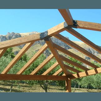 Verande in legno  Trapani  LEMIGI  Pergolati e capriate