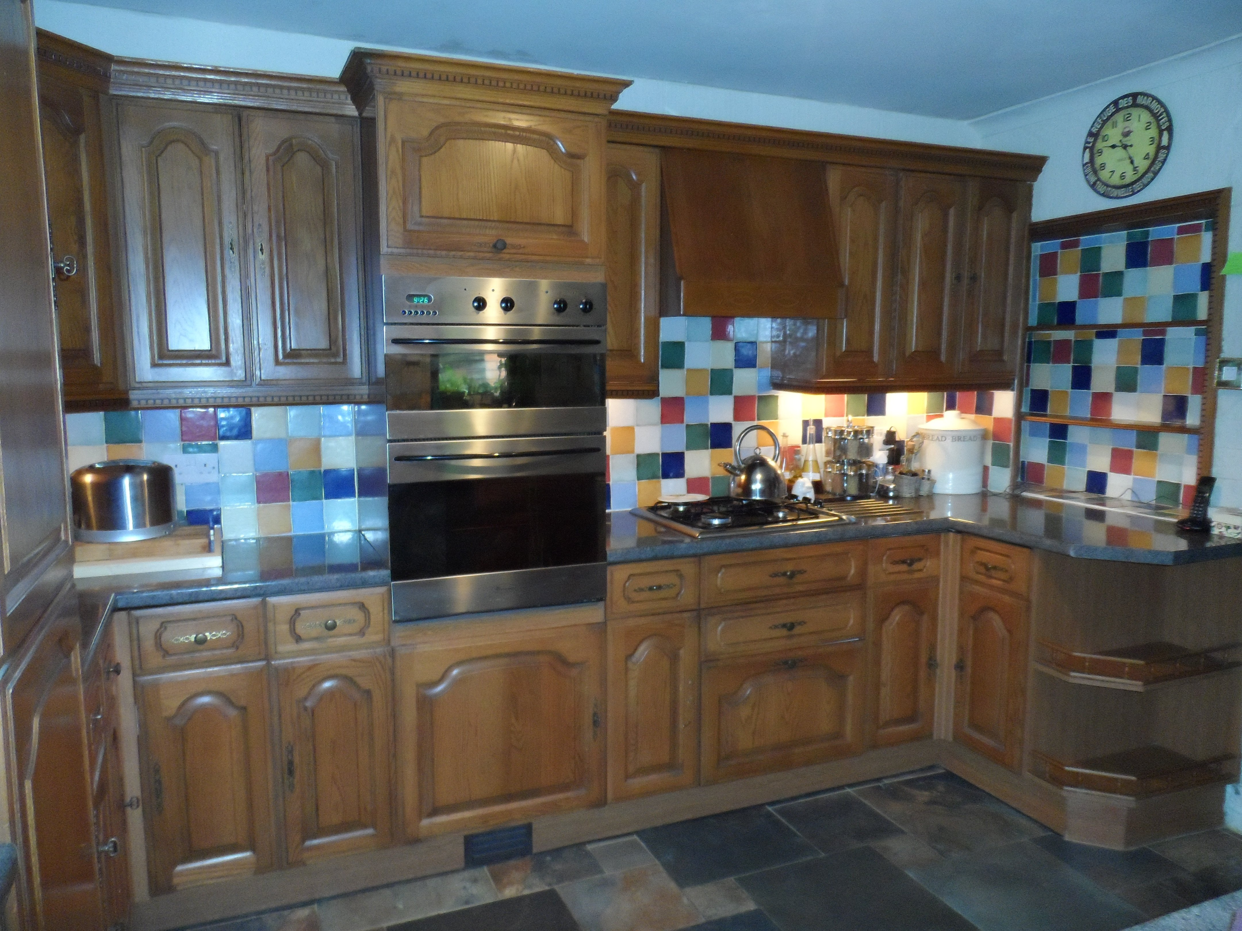 Spray Painting Kitchen Cabinet Doors In Gloucestershire