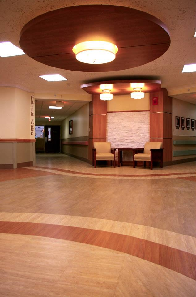 Heritage Contract Flooring Gallery  St Francis of Williamsville Nursing Home  Buffalo NY