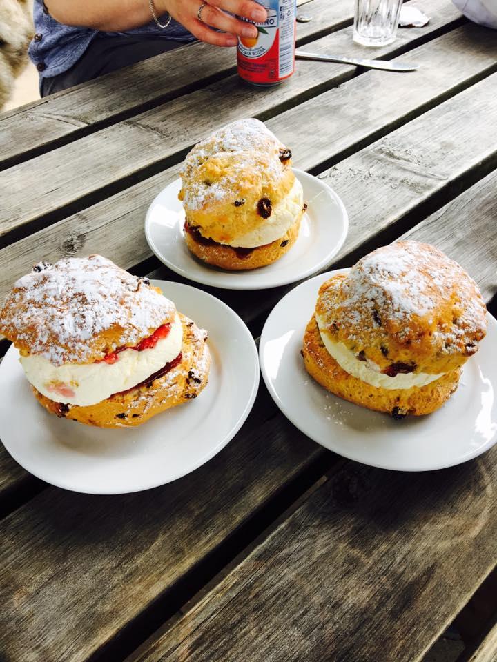 The scones at Ashridge
