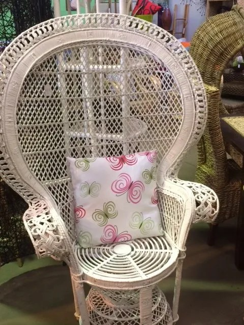 white chaise chair bungee swing randos cane furniture perth furniture, resort chairs, hawaiian chairs