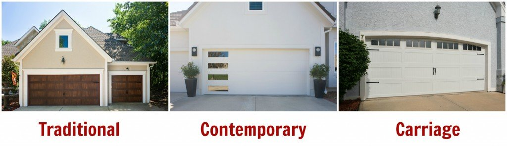 Garage Door Styles And Materials For Exterior Home Design