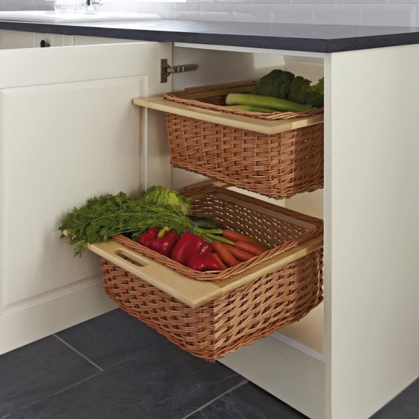 Pull Out Wicker Baskets For Kitchen Cabinets Year Of Clean Water