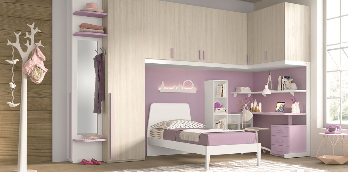 Le scrivanie per camerette sono dei complementi d\'arredo indispensabili nelle camerette dei bambini. Camerette Siderno Rc Sgotto Mobili