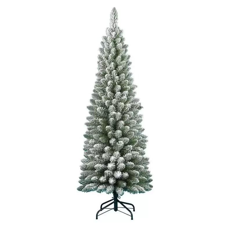 Scopri tutti i modelli e dimensioni degli alberi di natale per scegliere quello che più si adatta alle tua casa a prezzi scontati. Albero Di Natale Innevato Da 240 Cm Abete Finto Ecologico
