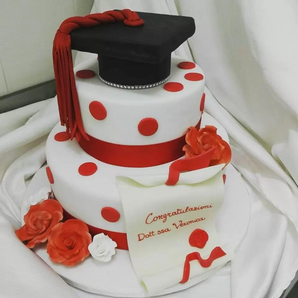 Torta Per Laurea 10 Idee Torta Eleganti Con Pasta Da