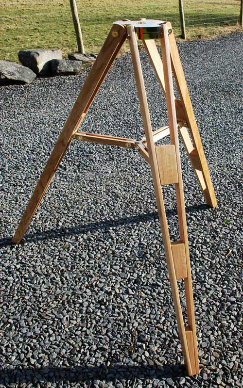 Tripod made by I R Poyser